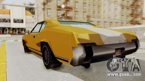 GTA VCS - Cholo Sabre for GTA San Andreas left view