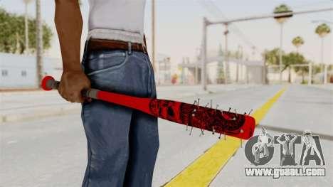 Nail Baseball Bat v2 for GTA San Andreas third screenshot