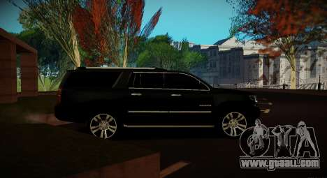 2015 Chevrolet Suburban Prosecutor's Office for GTA San Andreas back view