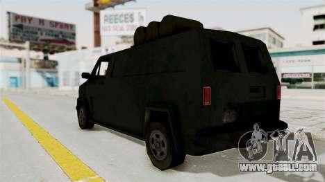 Boodhound Burrito - Manhunt 2 for GTA San Andreas left view