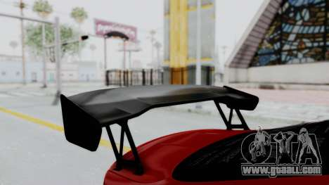 BMW M4 F82 Race Tune for GTA San Andreas back view