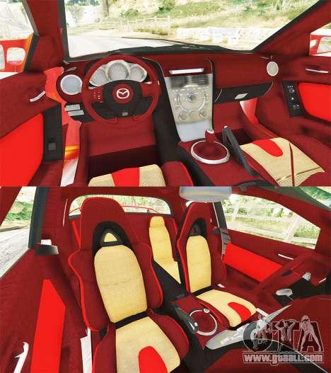 GTA 5 Mazda RX-8 2004 rear right side view