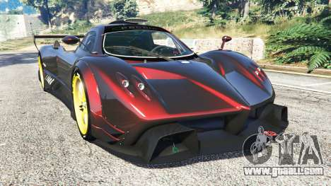 Pagani Zonda R for GTA 5