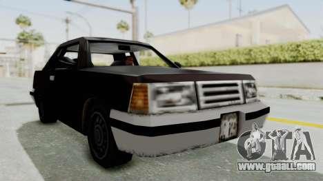 GTA 3 Manana for GTA San Andreas right view