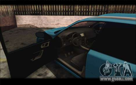 Subaru Legacy STi Wagon 2008 for GTA San Andreas back view