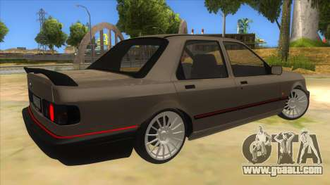 Ford Sierra Sapphire Cosworth for GTA San Andreas right view