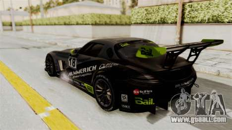 Mercedes-Benz SLS AMG GT3 PJ3 for GTA San Andreas wheels