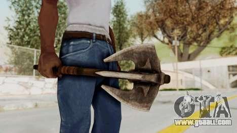 Skyrim Iron Mace for GTA San Andreas third screenshot