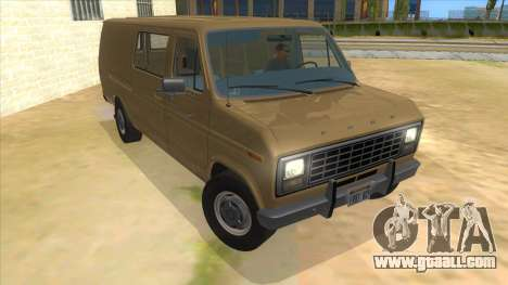 Ford E-250 Extended Van 1979 for GTA San Andreas back view