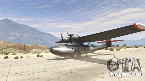 GTA 5 PBY 5 Catalina
