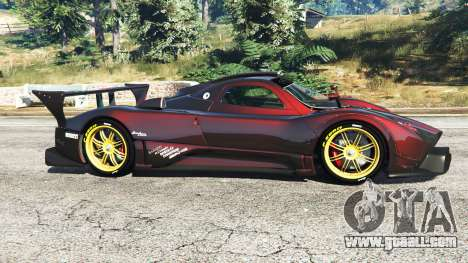 GTA 5 Pagani Zonda R left side view