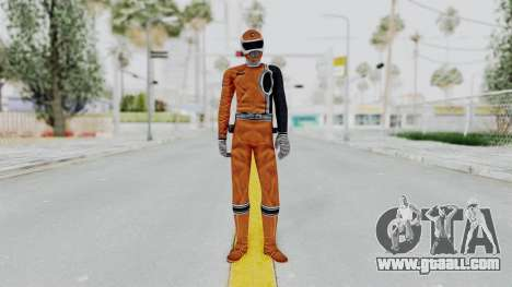 Power Rangers S.P.D - Orange for GTA San Andreas second screenshot