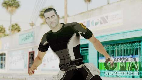 Mass Effect 2 Shepard Casual for GTA San Andreas