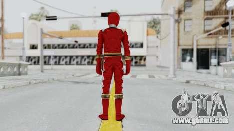 Power Rangers Dino Thunder - Red for GTA San Andreas third screenshot