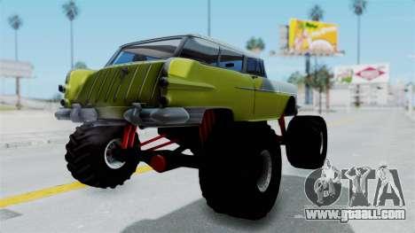 Pontiac Safari 1956 Monster Truck for GTA San Andreas left view