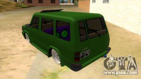 Toyota Kijang Grand Extra IKC for GTA San Andreas back left view