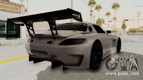 Mercedes-Benz SLS AMG GT3 PJ3 for GTA San Andreas left view