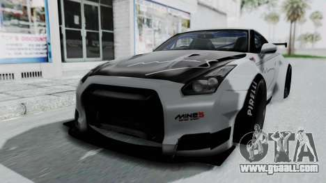 Nissan GT-R R35 2010 Liberty Walk for GTA San Andreas