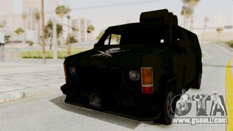 Boodhound Burrito - Manhunt 2 for GTA San Andreas back left view