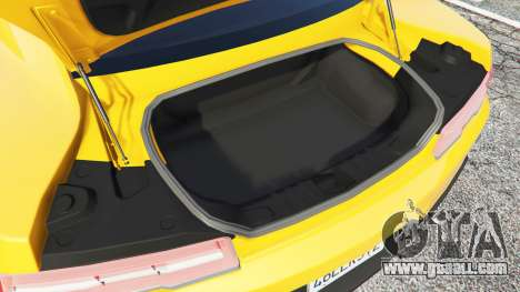 GTA 5 Chevrolet Camaro SS 2014 v1.1 steering wheel