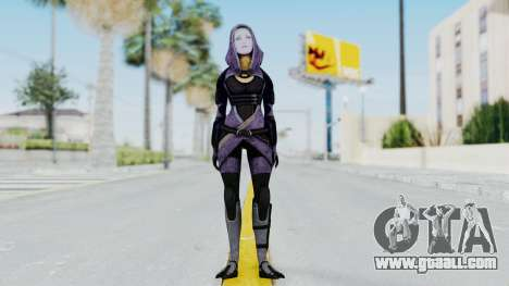 Mass Effect 3 Tali Zorah Unmasked for GTA San Andreas second screenshot