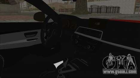 BMW M4 F82 Race Tune for GTA San Andreas right view