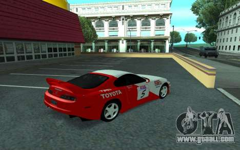 Toyota Supra Tunable for GTA San Andreas inner view