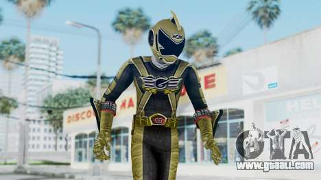 Power Rangers RPM - Gold for GTA San Andreas