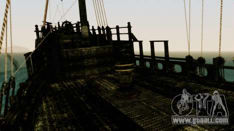 Flying Dutchman 3D for GTA San Andreas inner view