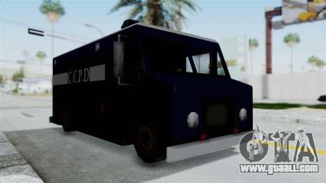 CCPD Boxville from Manhunt for GTA San Andreas right view
