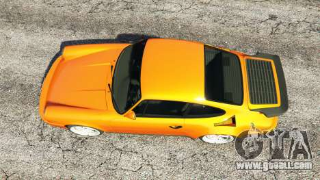 GTA 5 Ruf CTR v1.2 back view