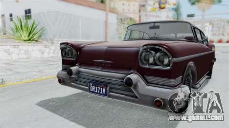 GTA 5 Declasse Tornado Bobbles and Plaques for GTA San Andreas right view