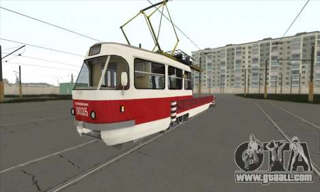 Tatra T3 service for GTA San Andreas