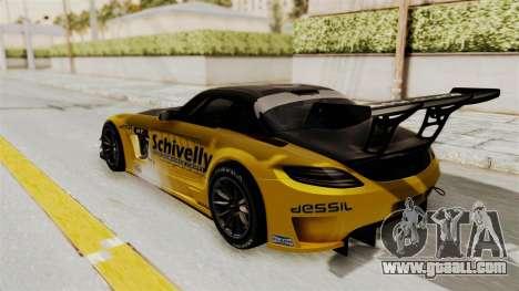 Mercedes-Benz SLS AMG GT3 PJ3 for GTA San Andreas upper view