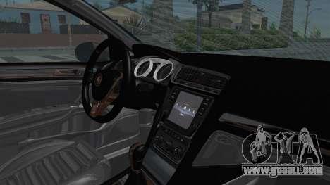 Volkswagen Golf 7 Stance for GTA San Andreas inner view
