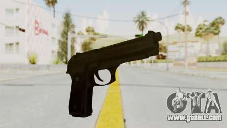Beretta M9 for GTA San Andreas second screenshot