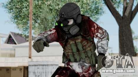 Black Mesa - Wounded HECU Marine v1 for GTA San Andreas