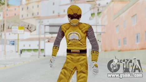Power Rangers Ninja Storm - Yellow for GTA San Andreas