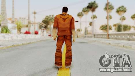 Claude Speed (Prision) from GTA 3 for GTA San Andreas third screenshot