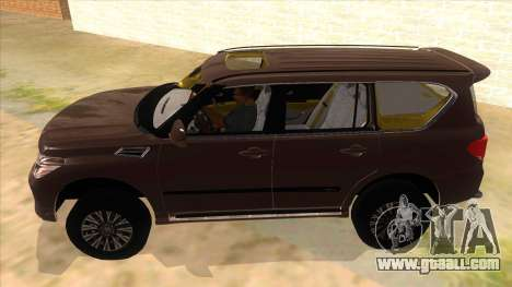 Nissan Patrol 2016 for GTA San Andreas left view