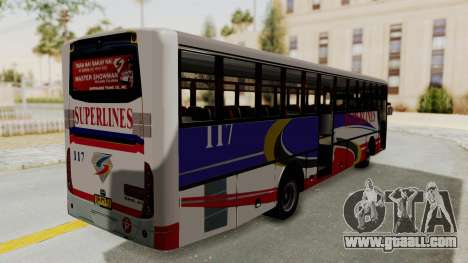 Superlines Ordinary Bus for GTA San Andreas right view