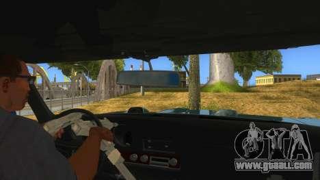 1969 Pontiac GTO Monster Truck for GTA San Andreas inner view