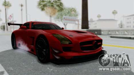 Mercedes-Benz SLS AMG GT3 PJ6 for GTA San Andreas right view