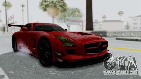 Mercedes-Benz SLS AMG GT3 PJ6 for GTA San Andreas right view