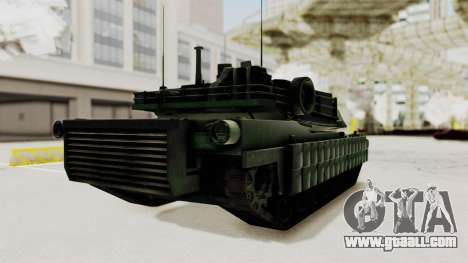 M1A2 Abrams Woodland Croatian for GTA San Andreas right view