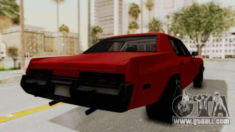 Dodge Monaco 1974 Drag for GTA San Andreas left view