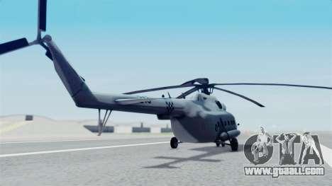 Mi-8 Croatian for GTA San Andreas left view