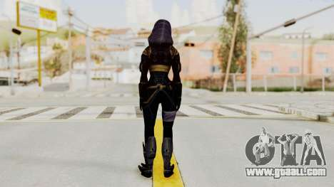 Mass Effect 3 Tali Armor for GTA San Andreas third screenshot