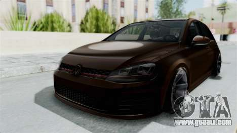 Volkswagen Golf 7 Stance for GTA San Andreas right view