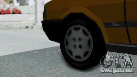 Tofas Kartal Taxi for GTA San Andreas back left view